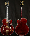 photo of 1996 Gibson Super 400 Custom CES Wine Red